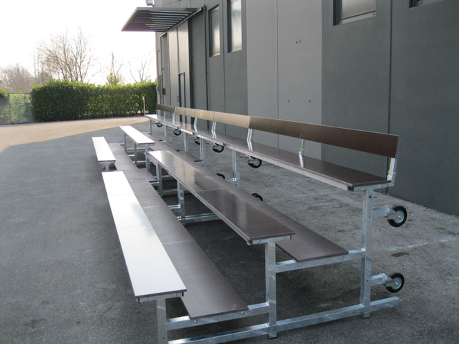 Portable Sports Seating Sports Facilities Group