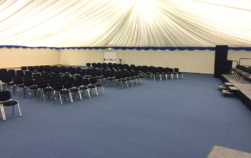 Sports Hall Draping