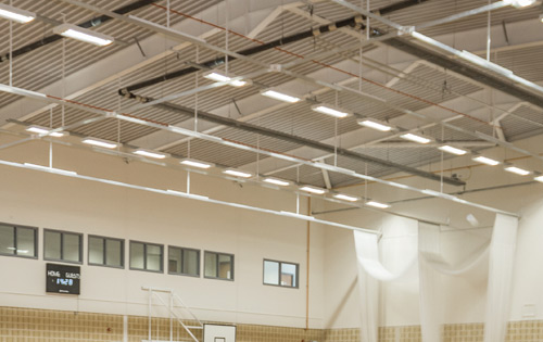 Sports Hall Lighting