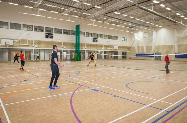 New Build Sports Halls