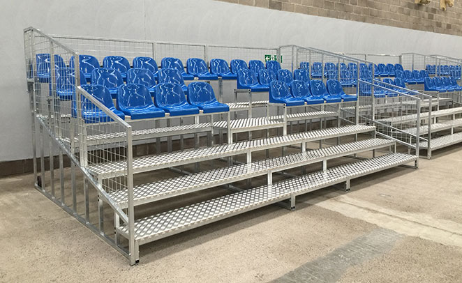 Outdoor Sports Seating Sports Facilities Group