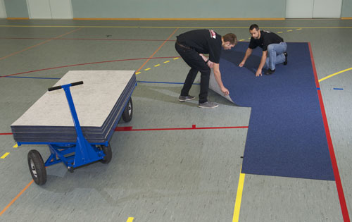 Sports Flooring Protection